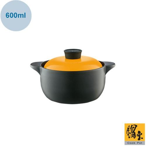 【鍋寶】金盾耐熱陶瓷雙耳鍋 陶瓷鍋 湯鍋 燉鍋600ml