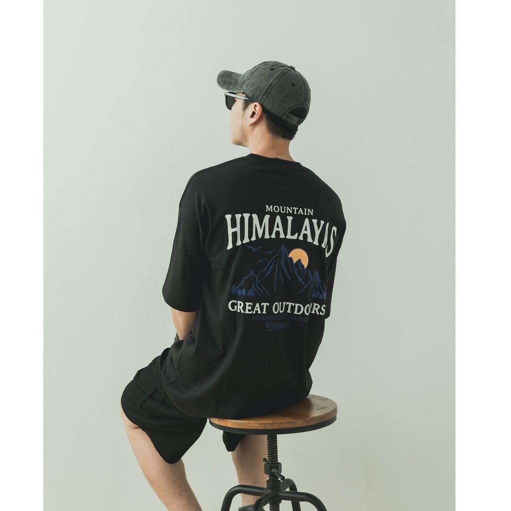 [Silence3.14] 韓國HIMALAYAS 圖像短袖T恤