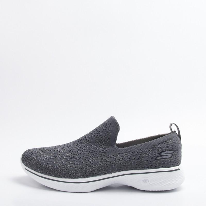 Skechers  健走系列 Go Walk 4 女款 健走鞋-灰 14918CHAR 零碼出清