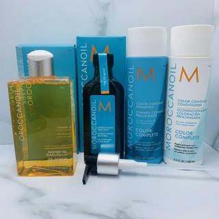 MOROCCANOIL 摩洛哥優油100ML(附壓頭)/ 經典沐浴膠250ML/ 色力子止漏洗髮露&護髮劑250ML 高雄市