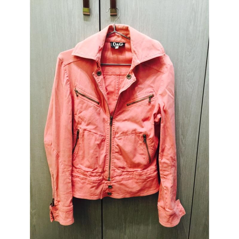 D&G 義大利製粉紅色外套