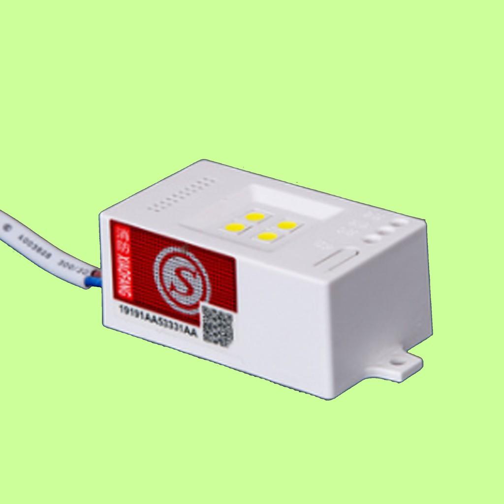 5Cgo【含稅】電梯LED照明5個一組小方盒吸頂燈半導體發光人感聲控壽命長停電裝置消防應急電源充電37856410817