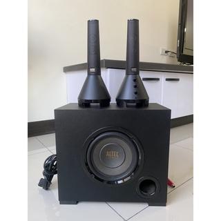 ALTEC 重低音音響 三件式 喇叭 2.1聲道 電腦音響 電腦喇叭 奧特 蘭星 力孚 VS4621 桃園市