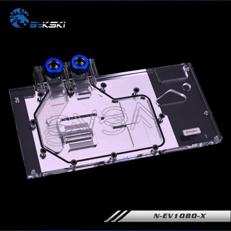 Bykski N-EV1080-X全覆蓋水冷頭 兼容EVGA GTX1080顯卡散熱