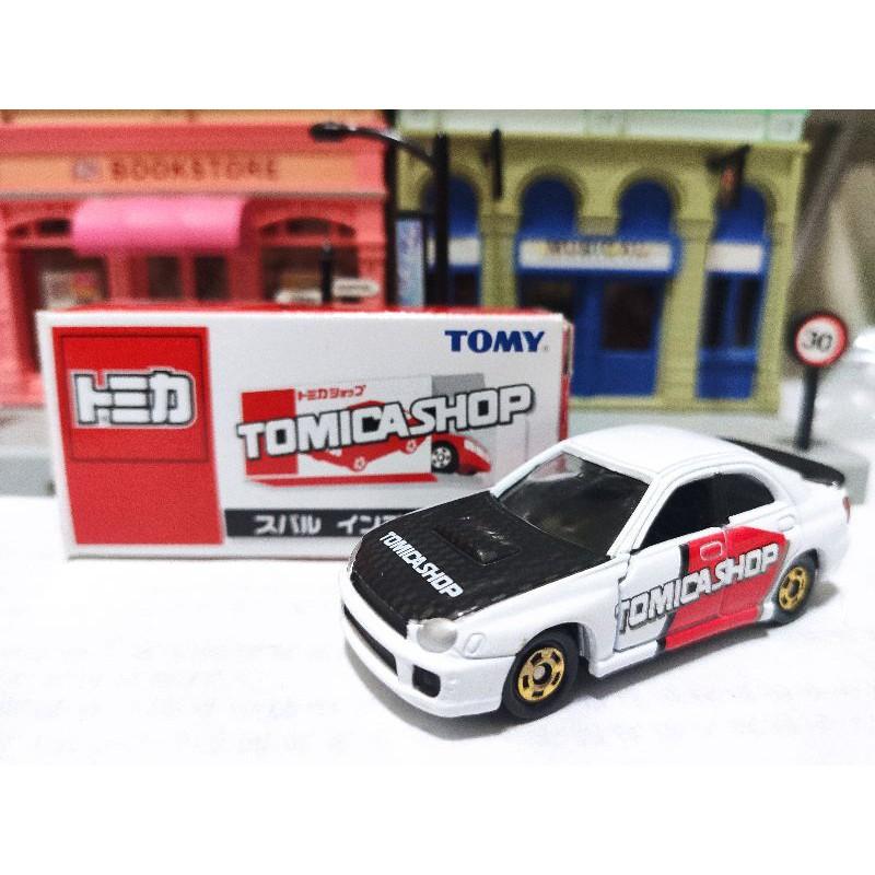 Tomica shop 限定 絕版 極稀有 Subaru Impreza Wrx 經典 名車 圓燈鯊