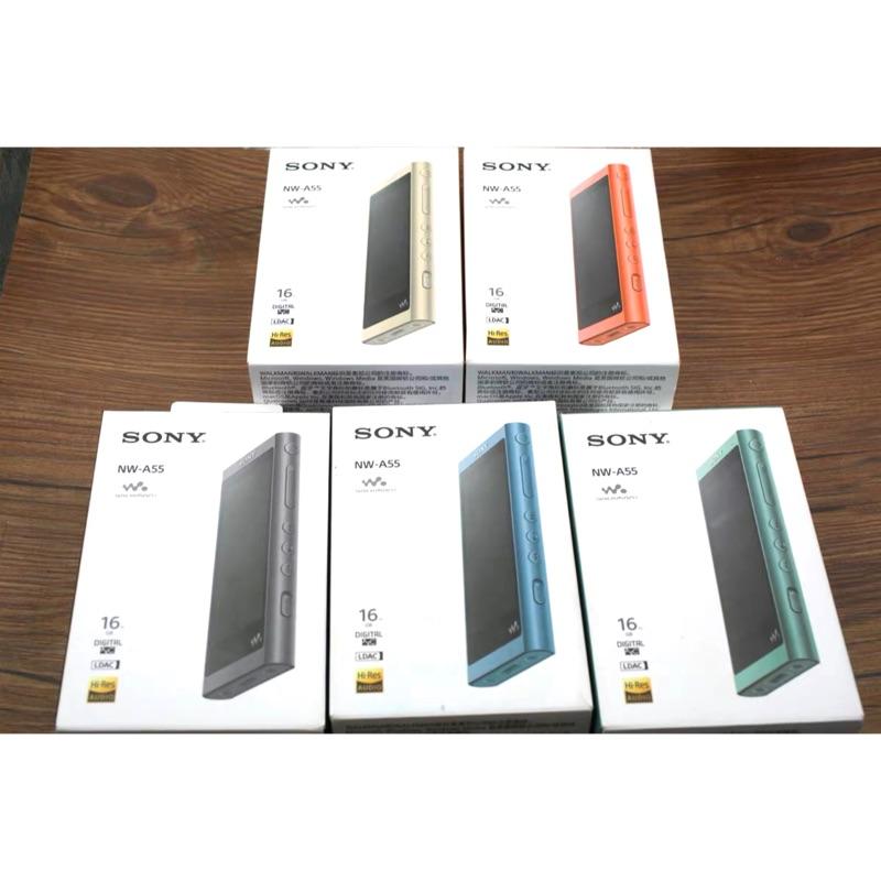 Sony nw-A55/A56 16GB/32GB dac 隨身聽