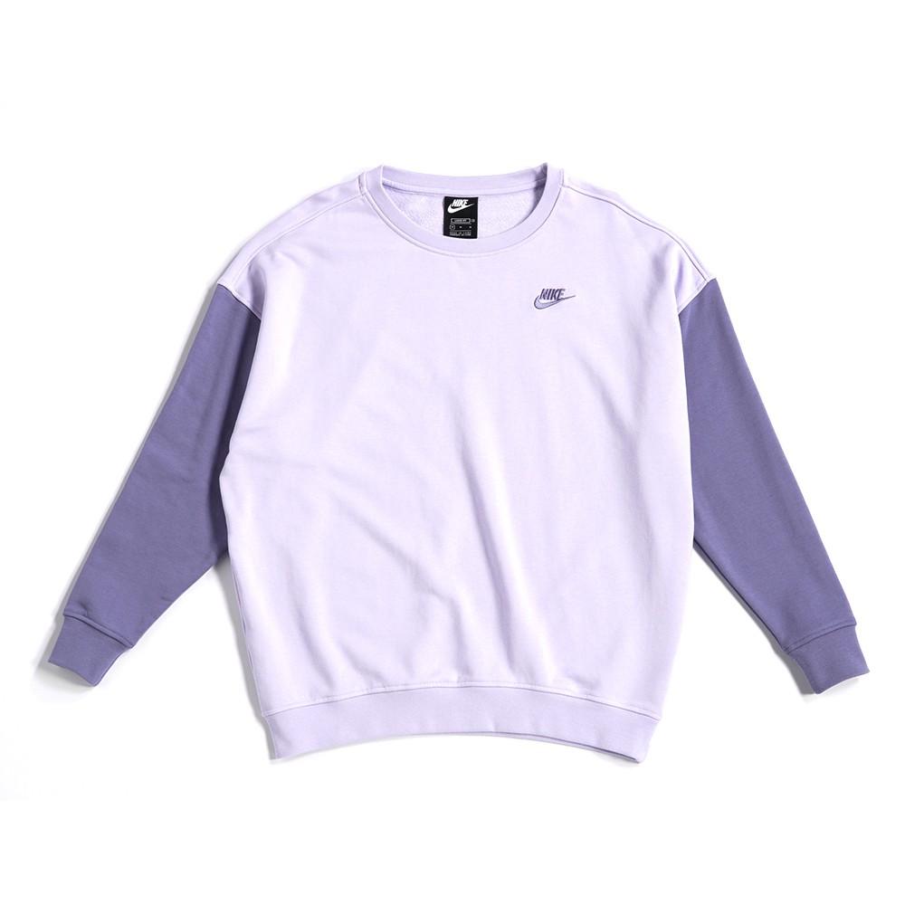 NIKE NIKE NSW CREW PASTEL 女款 馬卡龍 拼色 長袖上衣 衛衣 DJ6946-545