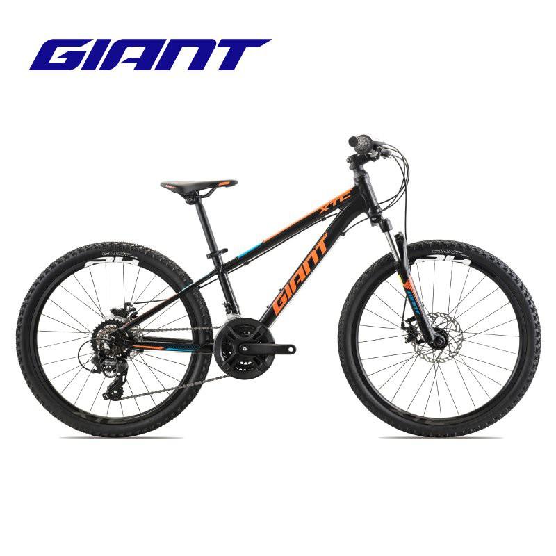 GIANT捷安特XTC 24-D 2鋁合金24寸機械碟剎青少年變速山地自行車