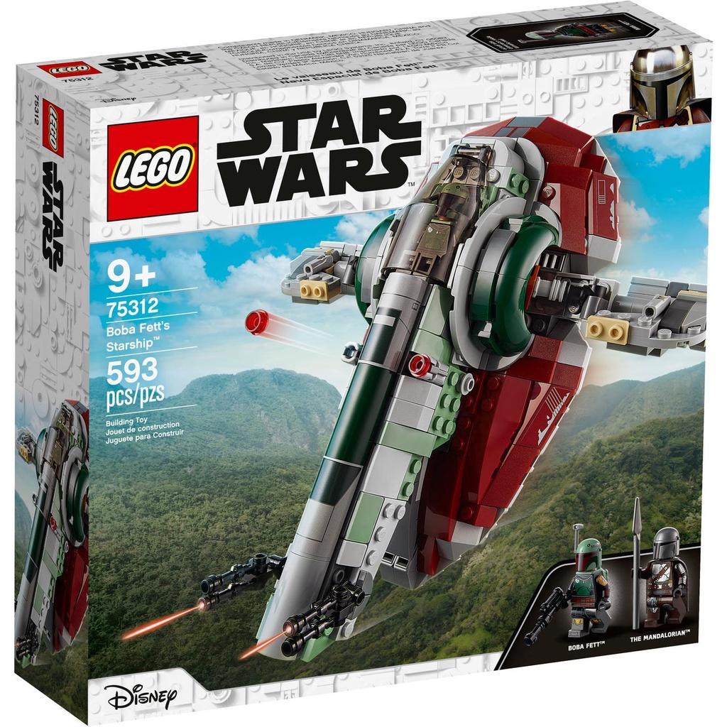 [Yasuee台灣][8月預購] LEGO 樂高 Star Wars Series 曼達洛人75312 Boba Fet