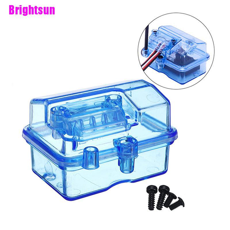 [Brightsun] 用於 SCX10 90046 Trsxxas TRX4 的 RC 汽車模型的防水接收器盒