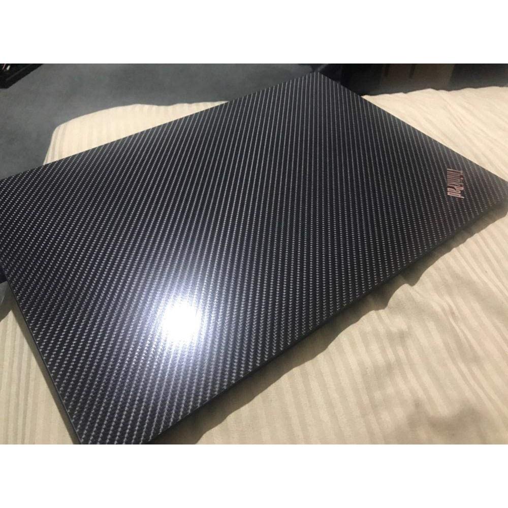適用於 Lenovo Legion Y520 R720 E520 Ideapad 700-15 的特殊筆記本電腦黑色碳纖