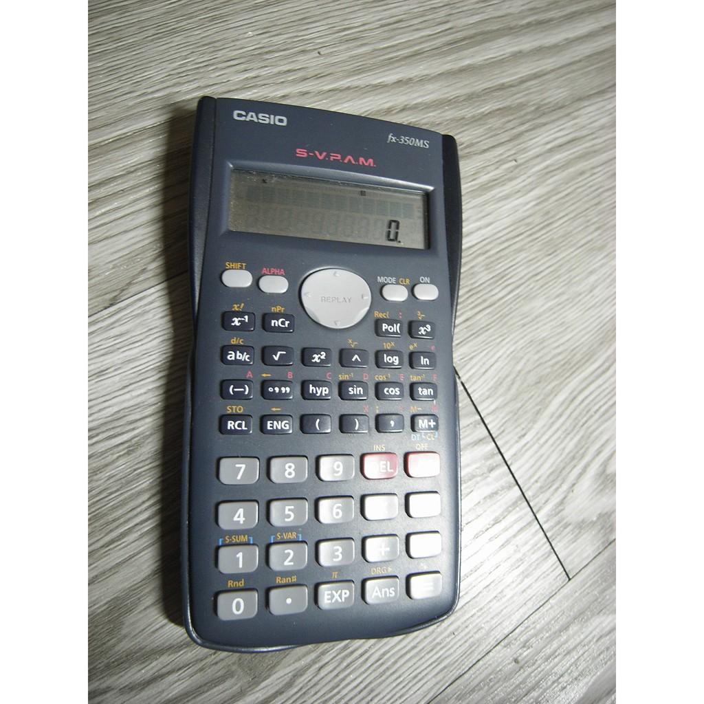 二手 -  卡西歐 CASIO 計算機 FX-350MS 計算機工程用 國家考試機型計算機 商用工程