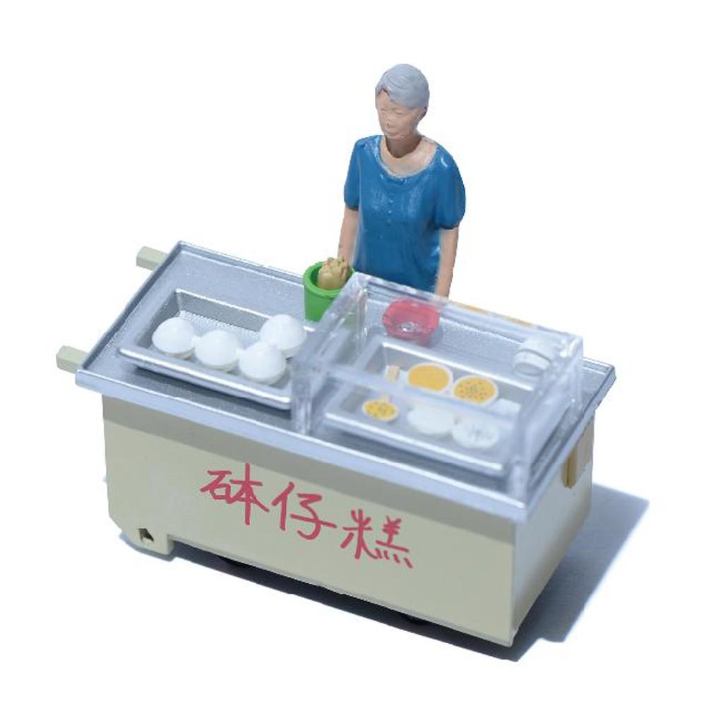 TINY 微影-砵仔糕車仔檔 1/35 台灣代理版 路邊攤 場景模型 微縮模型
