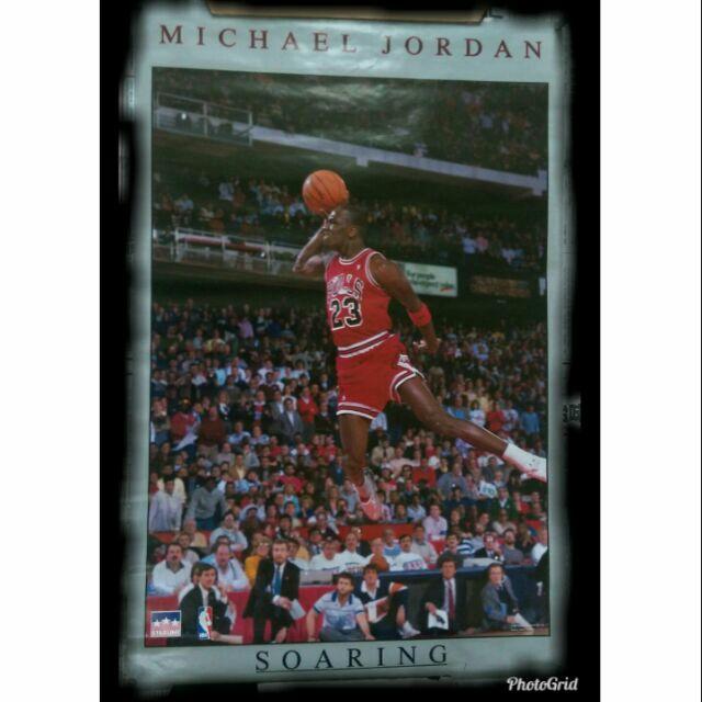 《NBA絕版海報》Michael Jordan Soaring