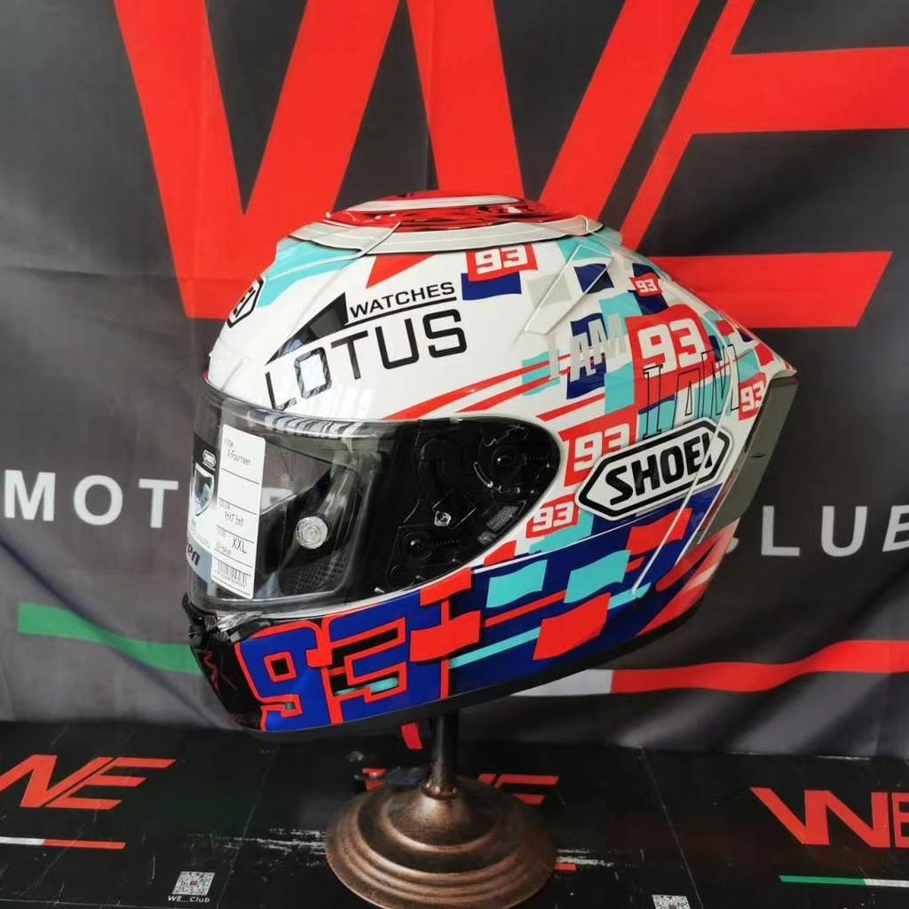 ✇SHOEI X14 z7系列93號紅螞蟻電源鍵招財貓全覆式頭盔摩托機車全盔