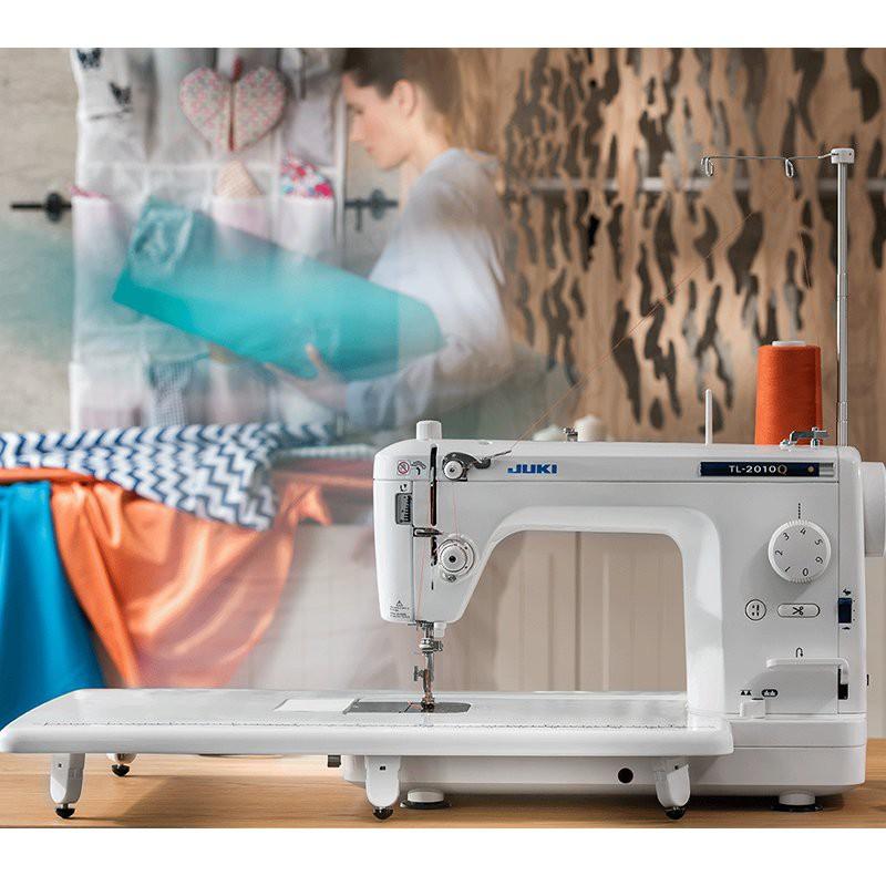 #日本進口日本JUKI重機縫紉機98職業平縫機高端家用衣車TL-2010工業機平車