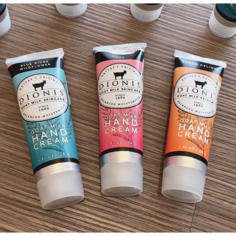 MiF Store100%正品 美國製DIONIS 經典山羊 護手霜 28g 三種香味