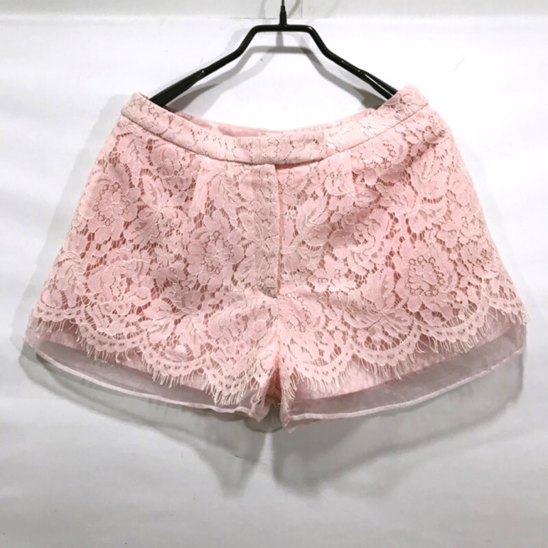 Larv'va粉色短褲