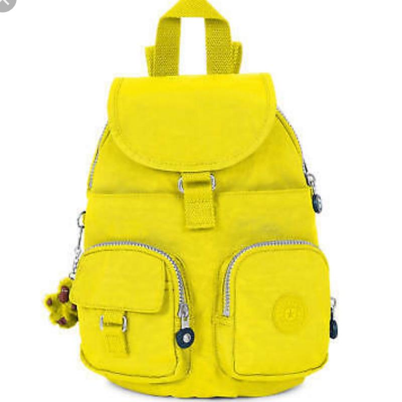 kipling BP3901 黃色 後背包