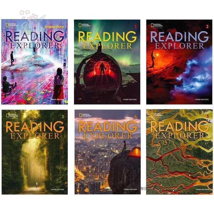 12.12Reading Explorer(閱讀探險者)最新第三版 F 1 2 3 4 5 階段六冊一套 小達人點讀
