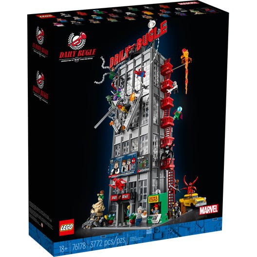 自取8600!【台中翔智積木】LEGO 樂高 MARVEL 蜘蛛人 76178 號角日報 Daily Bugle