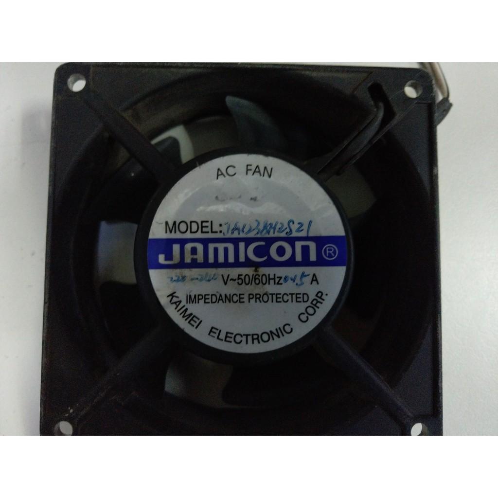 工業 鋁製 鋁殼風扇 12X12X3.8/12*12*3.8/220V 二手