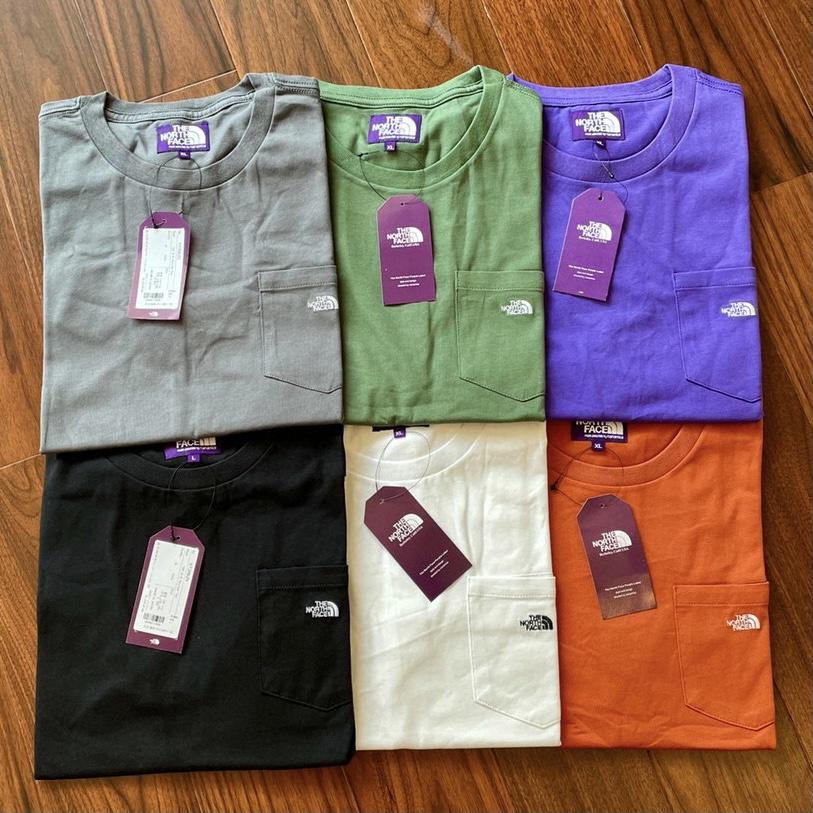 日本限定🇯🇵The North Face 紫標 口袋短袖