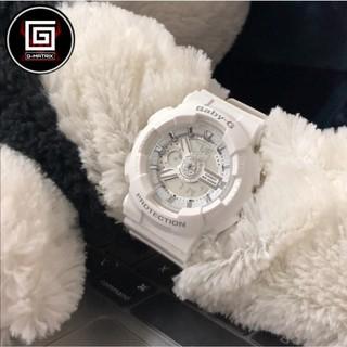CASIO 卡西歐 Baby-G 人氣經典率性情侶手錶 白 防水手錶 運動表  BA-110-7A3DR 桃園市