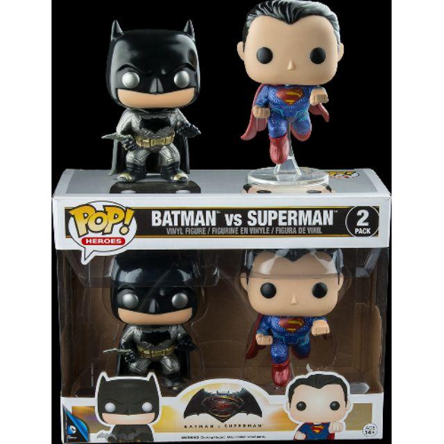 柴寶趣 FUNKO POP 2-PACK 2pk 雙人組 蝙蝠俠 超人 正義曙光 BATMAN SUPERMAN 正版