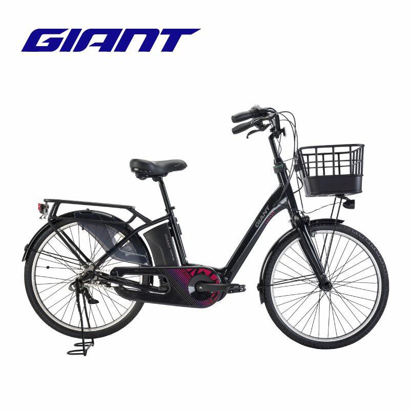 Giant捷安特MIYA E+ 24寸智能城市休閒助力新國標電動自行車