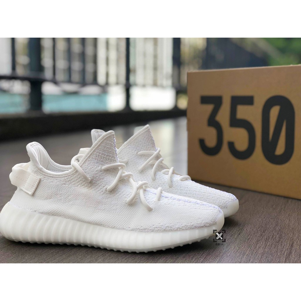 Adidas Yeezy 350 Boost V2 All White 全白 350