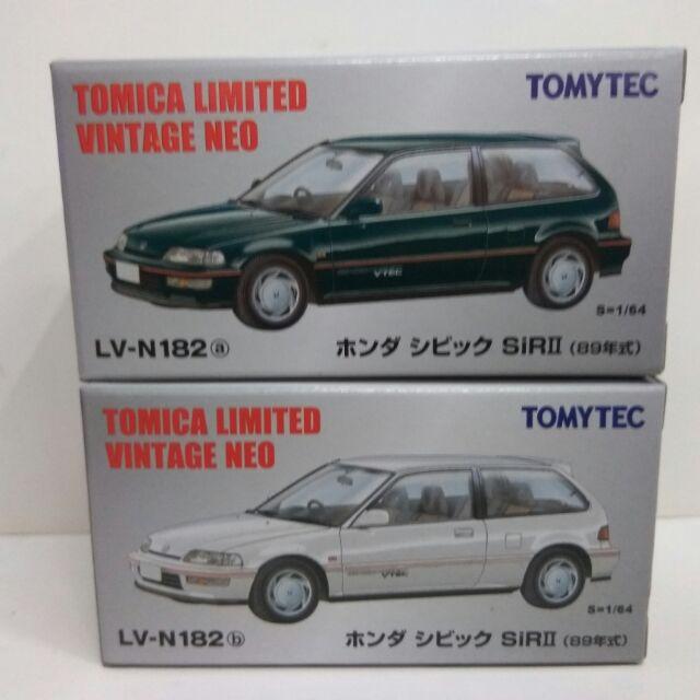 (阿谷小舖)現貨 tomytec TLV LV-N182a N182b 日產Honda Civic Sir II 代理版