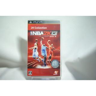 [耀西]二手 純日版 SONY PSP NBA 2K13 2K 精選集 含稅附發票