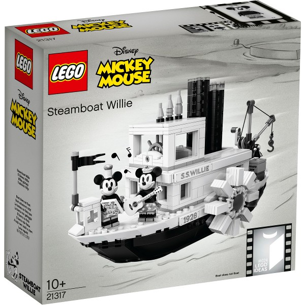 LEGO 樂高 21317 全新品未拆 Steamboat Willie 蒸汽船 威利號 米奇 米妮