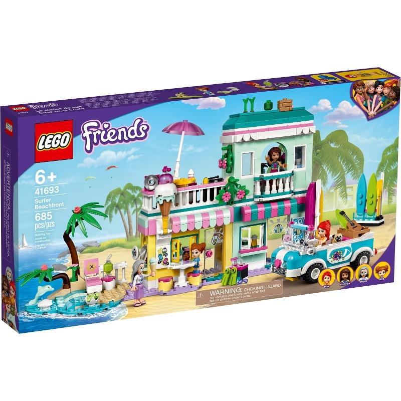 【麥斯與亞當】 LEGO 41693 Surfer Beachfront