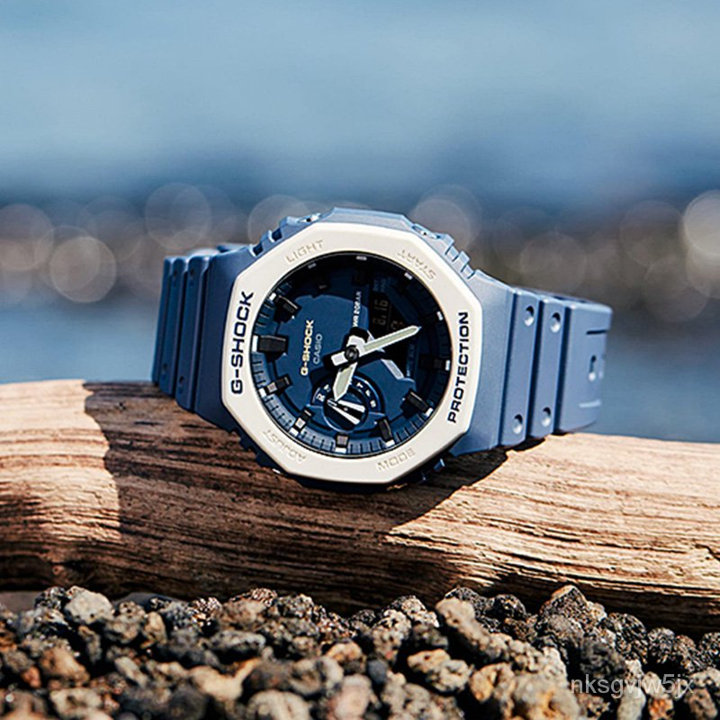 公司貨卡西歐G-SHOCK GA-2110ET-2A/2100-1A1/1A/8A/TH  電子男士腕手錶
