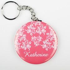 Gifthing 客製化鑰匙圈 圓形鑰匙扣 來圖定制 情侶鑰匙圈 情人節首選禮物 週年紀念禮 生日禮物