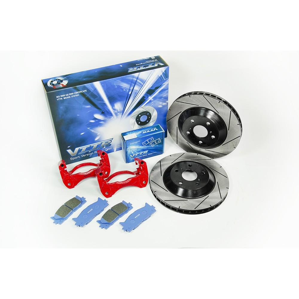 【優質輪胎】VTTR運動版286MM加大碟盤+來令片(WISH ALTIS CAMRY RAV4 PREVIA)三重區
