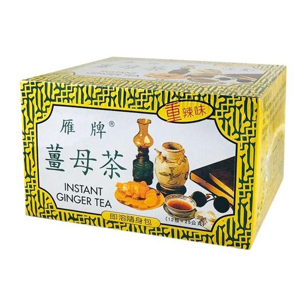 雁牌 薑母茶300g(共12包入)【小三美日】D202011