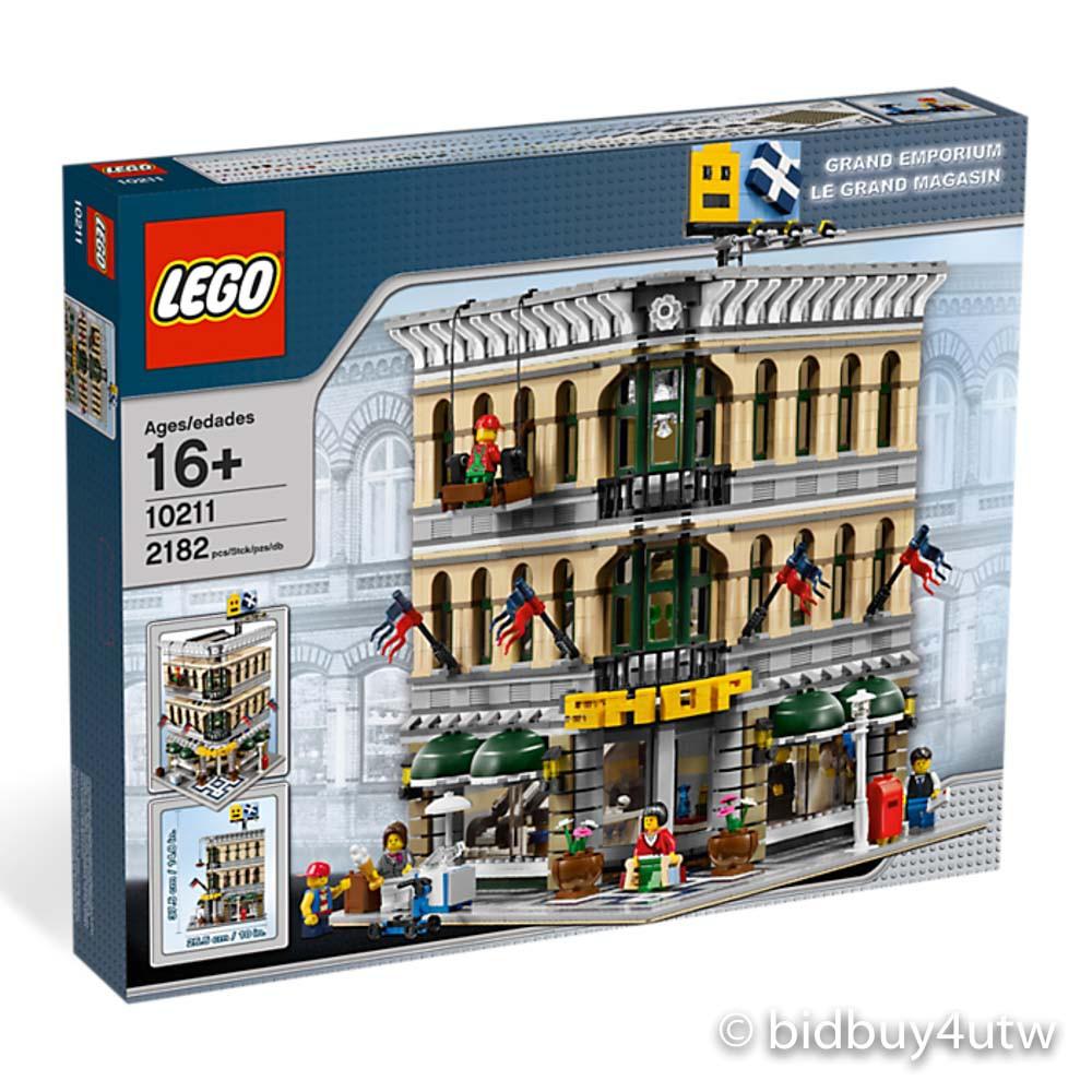 LEGO 10211 百貨公司 Grand Emporium 樂高街景系列【必買站】樂高盒組