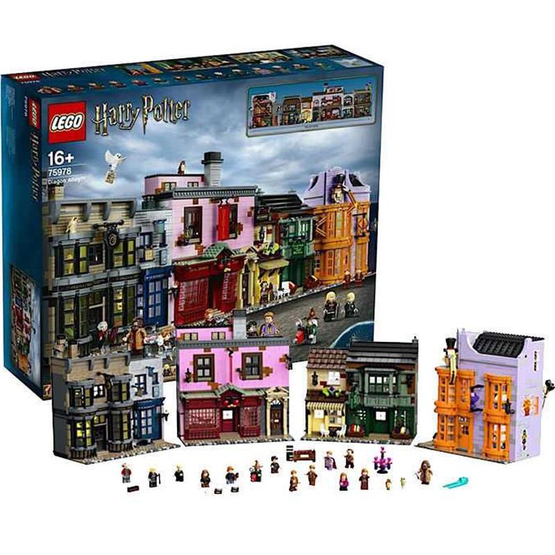 現貨可刷卡【Mr.Brick】 LEGO 75978 Diagon Alley 斜角巷
