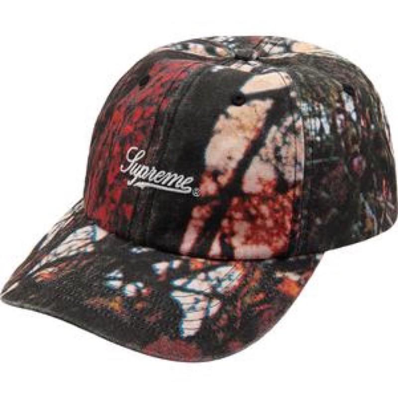 Supreme Pigment Print Script Logo 老帽 帽子