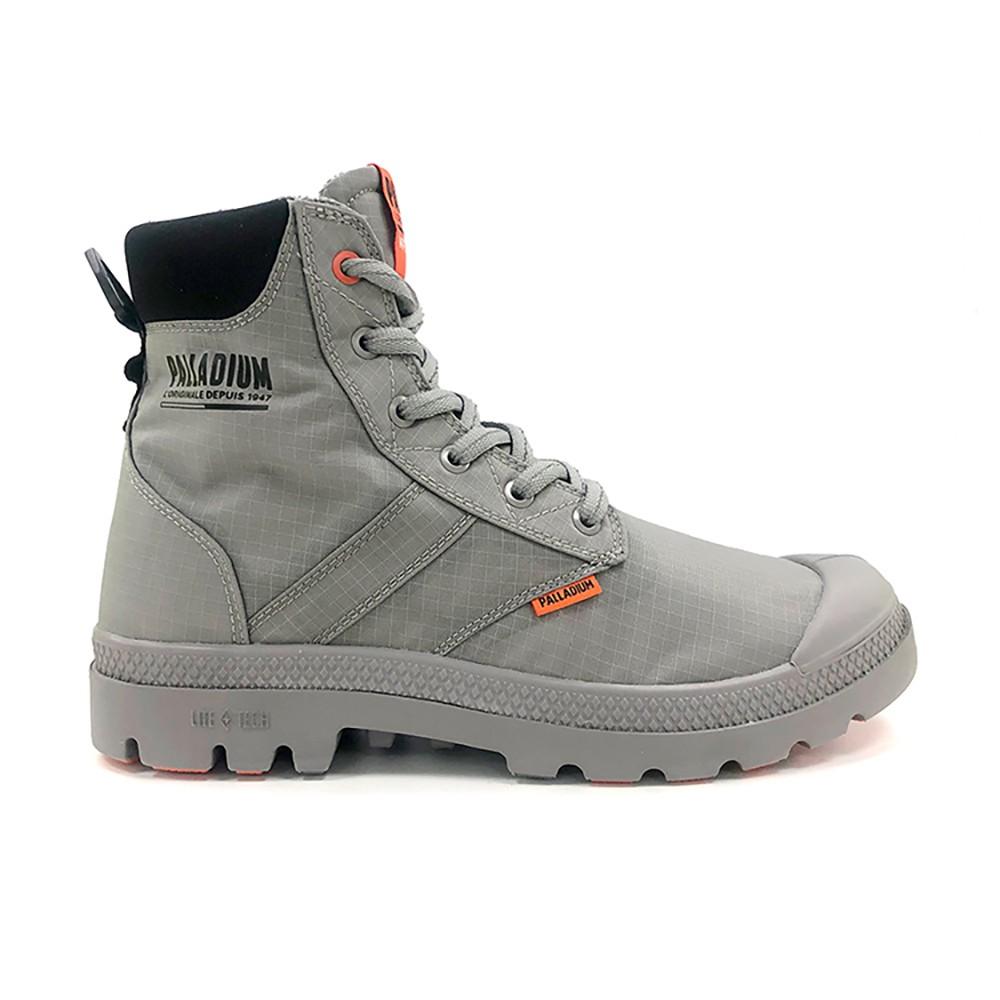 PALLADIUM PAMPALITE+SCVAPORWP+ 灰色 男女款 防潑水 高筒靴 76865011