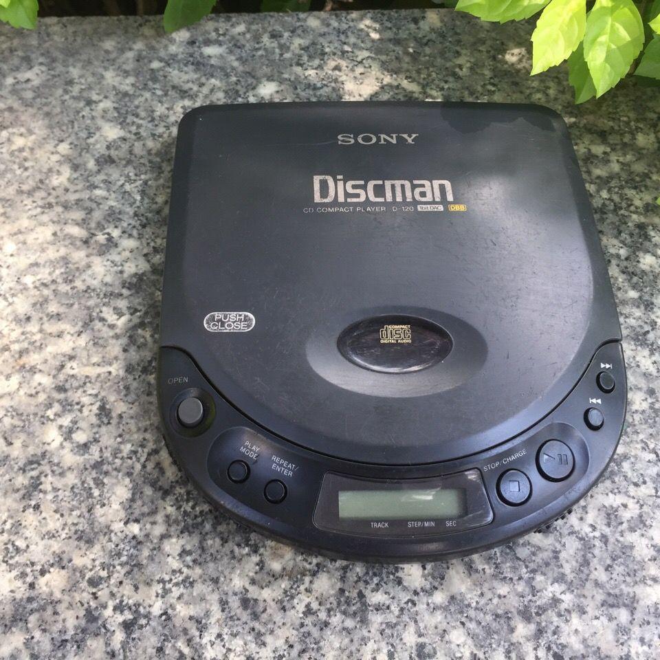 [現貨]SONY索尼d120CD隨身聽,型號d-120,非松下愛華,發燒級CD播放器