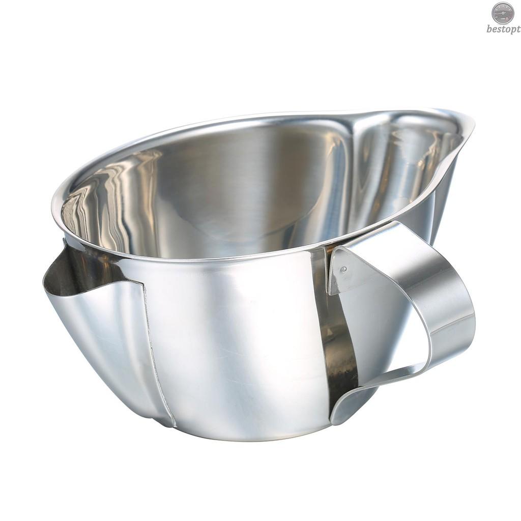 最佳機油分離器不銹鋼機油濾清器湯油分離鍋油脂濾油過濾器油脂肪分離器碗帶手柄
