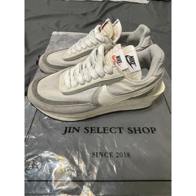 Nike Sacai x LDWaffle 'Summit White' 聯名鞋 灰白