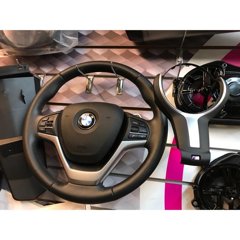BMW F15 X5 標配方向盤 卡夢M方向盤料