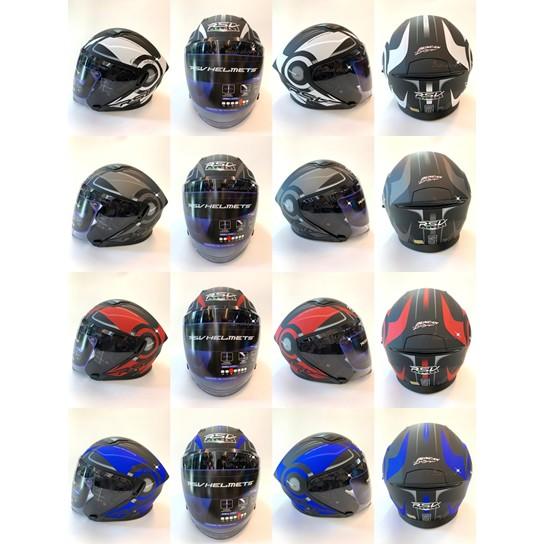 【RSV Venon 轉速 彩繪 3/4罩 三分之四罩 安全帽】 買就送 【防摔手套/手機支架】(二選一)