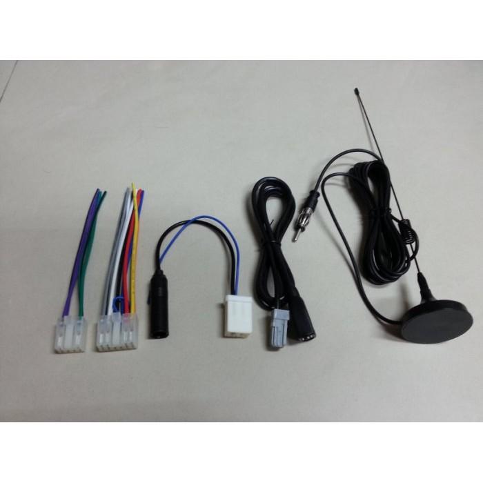豐田TOYOTA-CAMRY,VIOS,ALTIS,RAV4,WISH,YARIS原廠音響主機專用電源線組天線USB