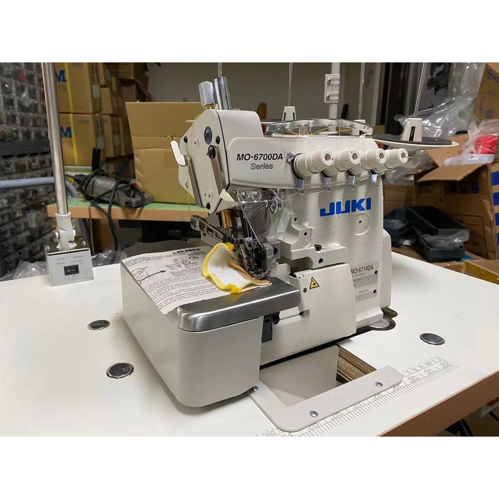 JUKI MO-6714DA 工業用 拷克 針桿 無油 高速安全乾式機頭包縫機 MO-6700DA 新輝科技有限公司